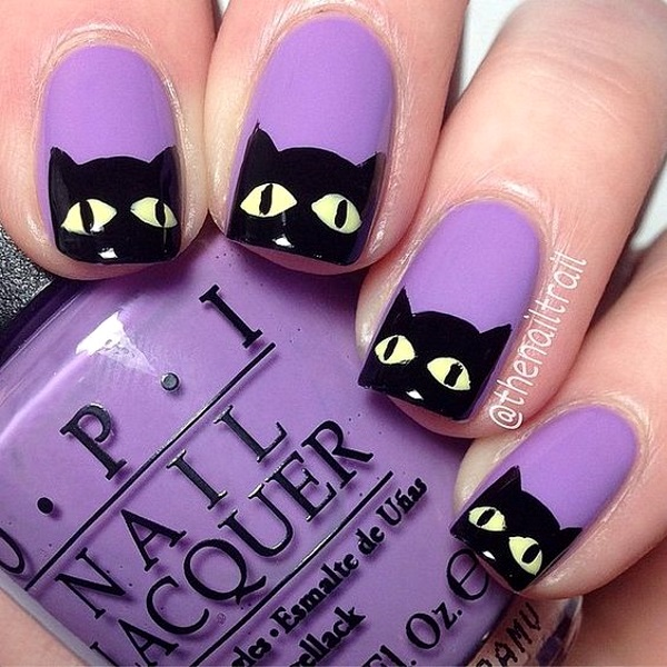 Best Halloween Nail Designs – Pink Lover