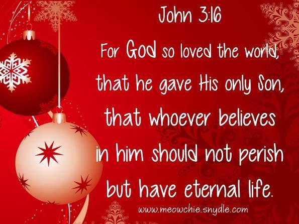 Christmas Christian Bible Verse