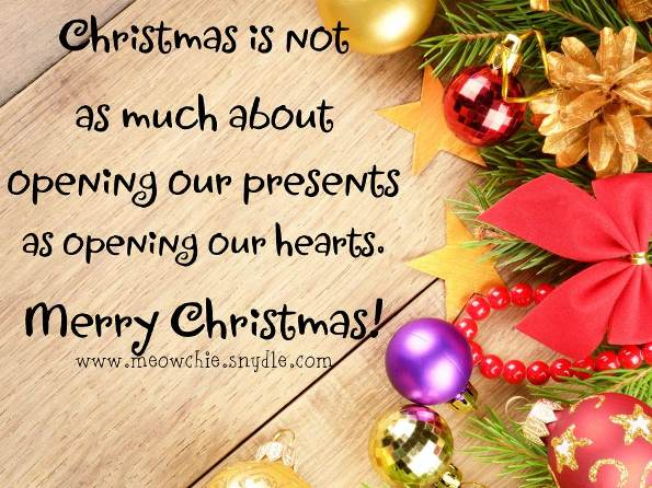 christmas greetings for family
