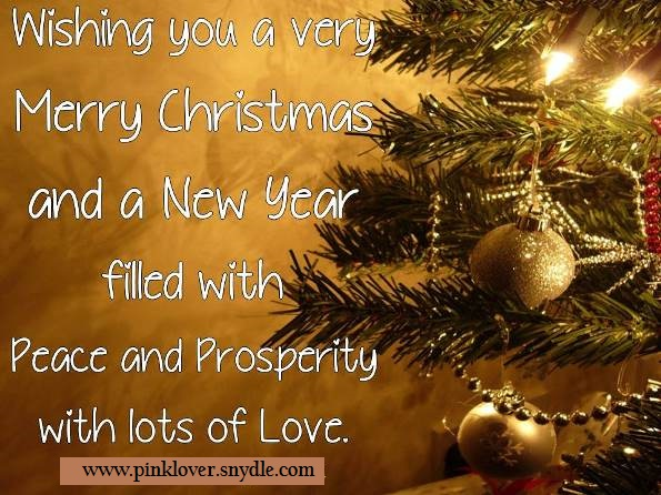 Christmas quotes and sayings 2016 pink lover wishing you a very merry christmas and a new year filled with peace and prosperity with lots of love m4hsunfo