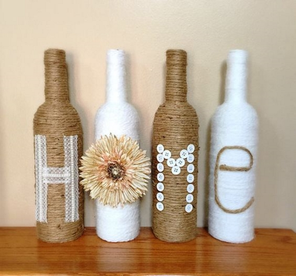 Glass Bottle Decoration Captivating 60 Diy Glass Bottle Craft Ideas For A Stylish Home  Pink Lover 2018