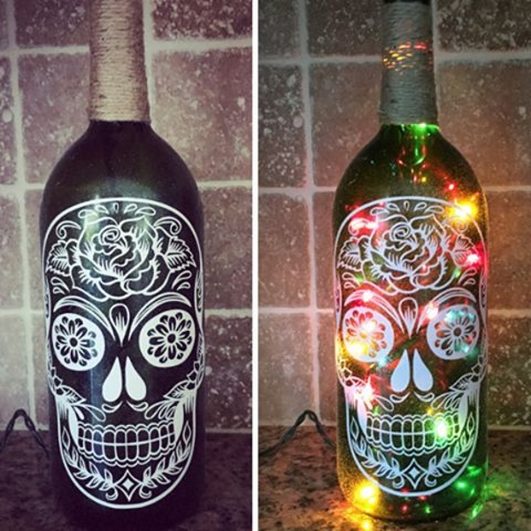 Halloween Bottle Decorations Fascinating 60 Diy Glass Bottle Craft Ideas For A Stylish Home  Pink Lover 2018