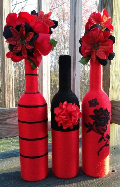 60 diy glass bottle craft ideas for a stylish home pink for Wine bottle vase ideas