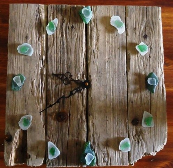 55 driftwood crafts to make for beach lovers pink lover for Arts and crafts glass