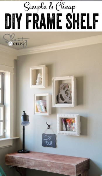 DIY Shelves to Style your Home - Pink Lover