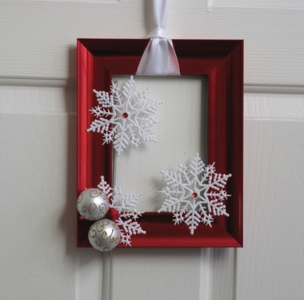 simple diy christmas door decorations