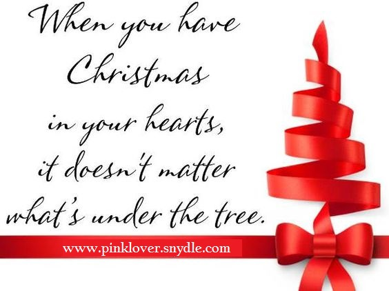 Inspirational Christmas Sayings And Quotes
