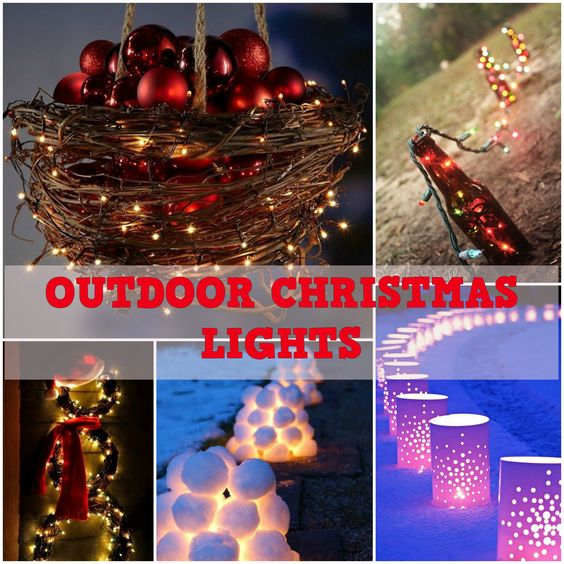 best outdoor christmas lighting ideas - Best Outdoor Christmas Decorations