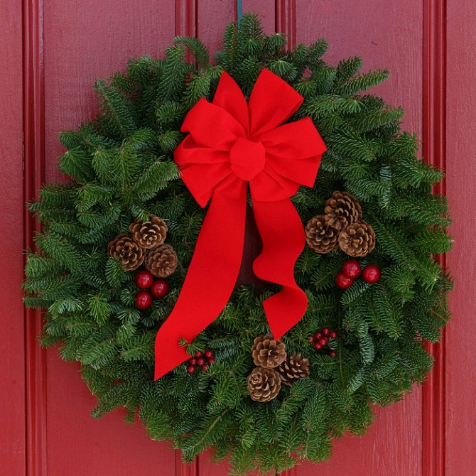Superior Christmas Door Decoration_