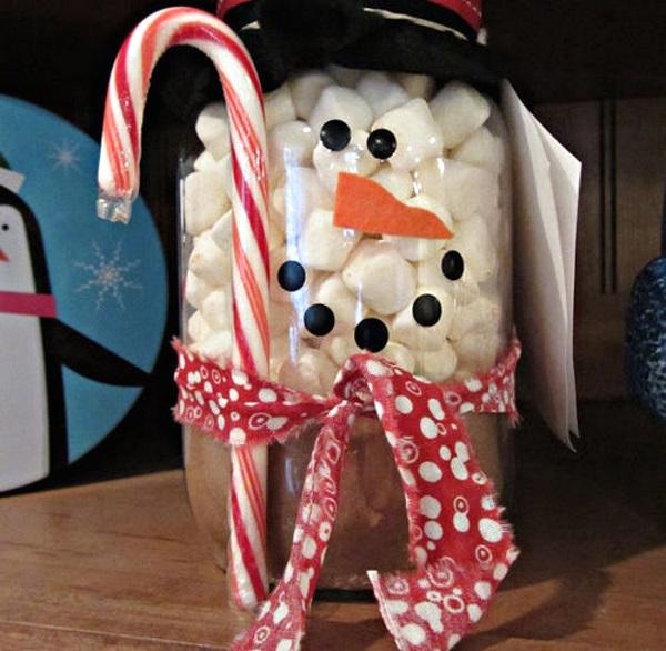 50 Amazing Mason Jar Christmas Crafts - Pink Lover