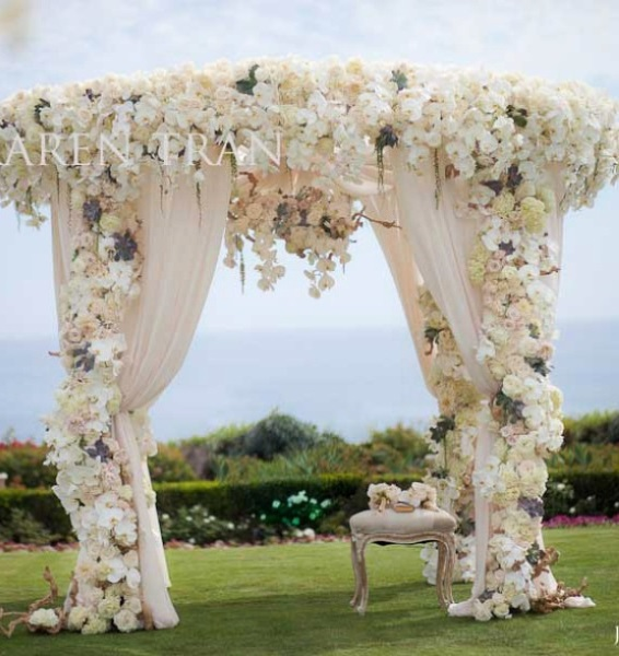 60 Best Garden Wedding Arch Decoration Ideas