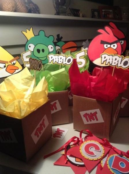 Luxury Angry Birds Centerpieces Ideas