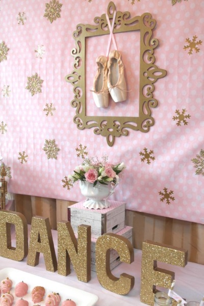 60 diy ballerina birthday party ideas pink lover for Ballerina party decoration ideas