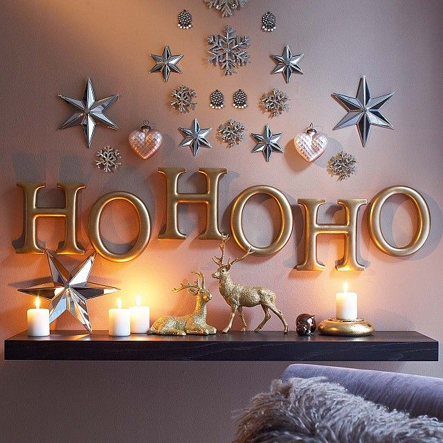 Best Indoor Christmas Decorating Ideas 2016 - Pink Lover
