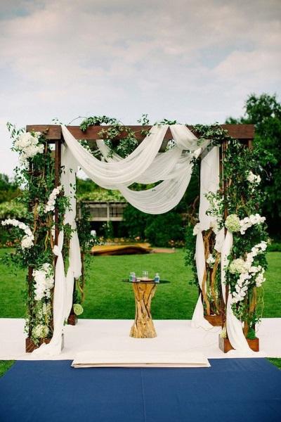 Beautiful Diy Garden Wedding Arch Ideas Image Source