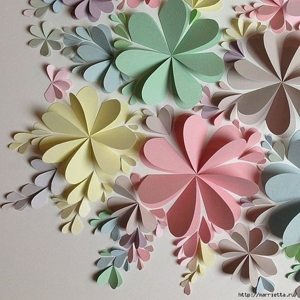 Diy Paper Flower Crafts And Projects Pink Lover