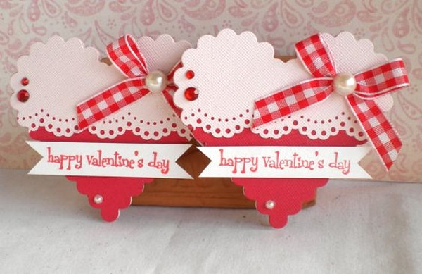 Adorable Valentines Day Handmade Card Ideas I love Pink – Images for Valentine Day Cards