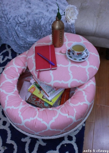 50 diy recycled tire projects to beautify your home pink
