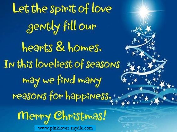 Christmas Quotes and Sayings 2016 - Pink Lover