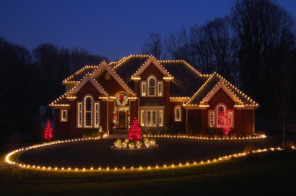 Christmas House Ideas magical christmas house lights ideas - pink lover