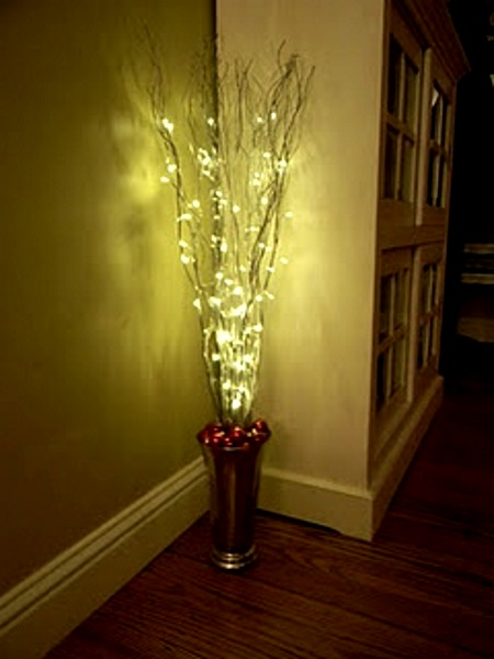 Indoor Christmas Lighting. Image Source Indoor Christmas Lighting A
