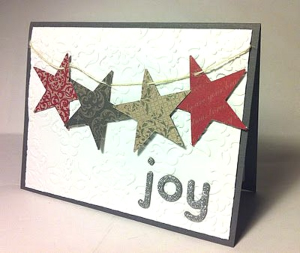 Creative Diy Christmas Card Ideas 2016 Pink Lover