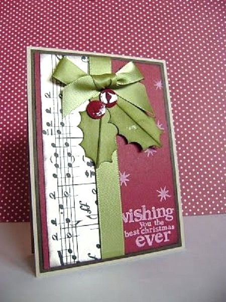 creative homemade christmas card ideas