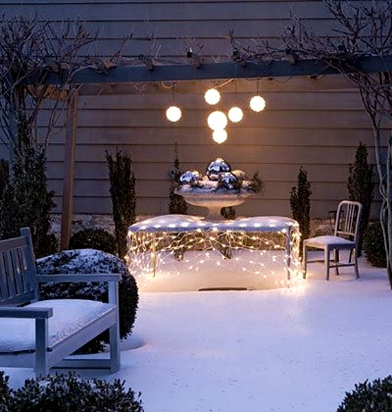 Outdoor Christmas Lighting Ideas: 50 Best Outdoor Christmas Lighting Ideas