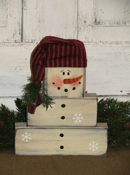 Image Result For Wooden Christmas Decorations