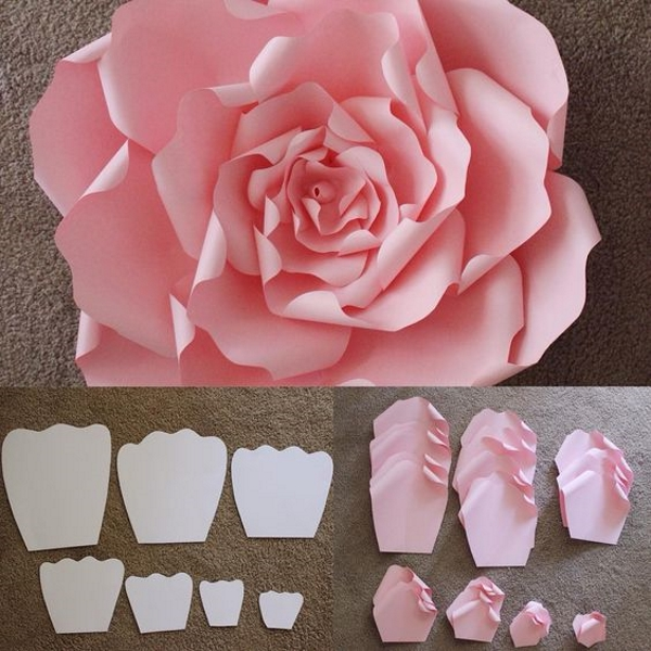 Diy paper flower crafts and projects pink lover image source image source mightylinksfo