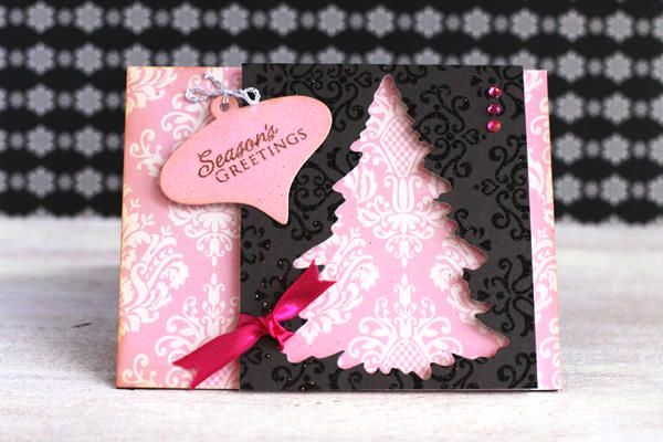 60 handmade christmas cards pink lover image source m4hsunfo