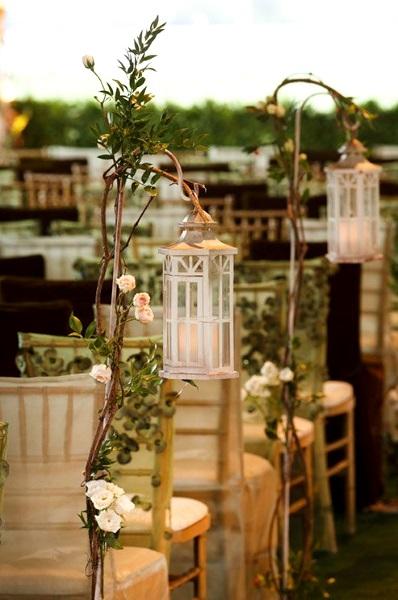 50 Best Garden Wedding Aisle Decorations - Pink Lover