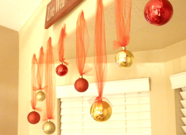 50 diy indoor christmas decorating ideas pink lover for Indoor xmas decorating ideas