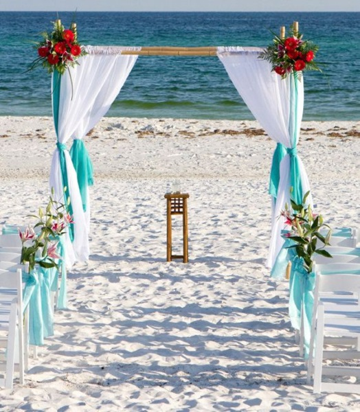 Beach Wedding Arch Decorations: 60 Best Garden Wedding Arch Decoration Ideas