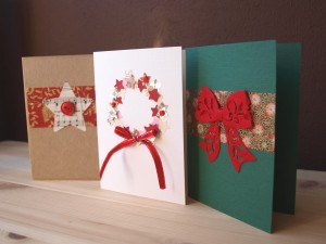Christmas card ideas handmade easy gifts