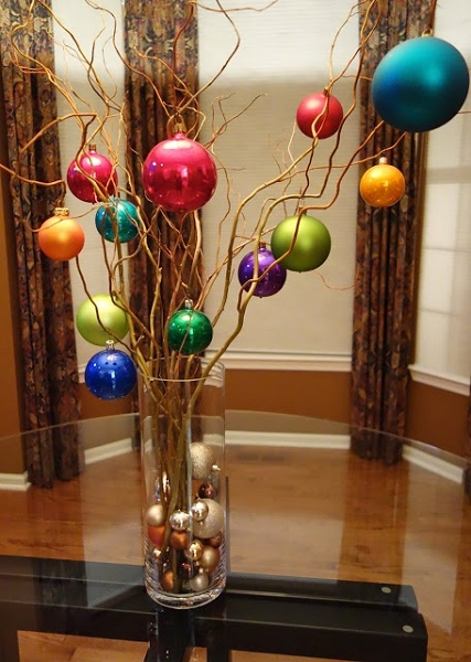 image source image source easy and simple christmas centerpiece - Diy Christmas Centerpieces