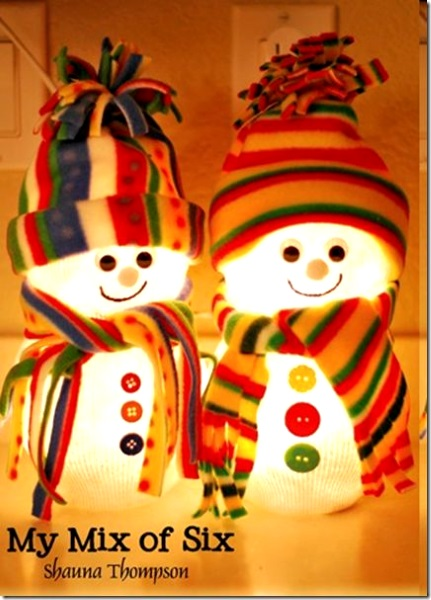 diy-christmas-snowman-with-light