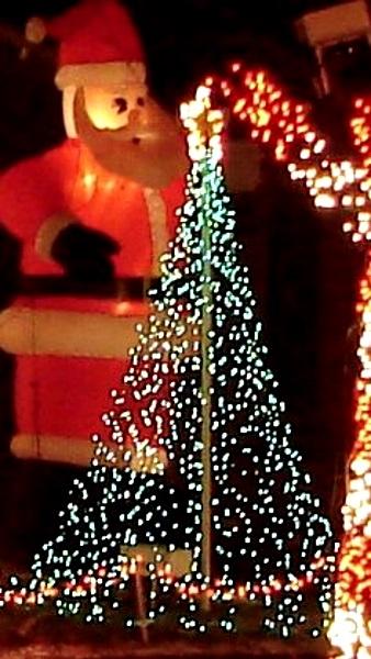 50 Best Outdoor Christmas Lighting Ideas Pink Lover