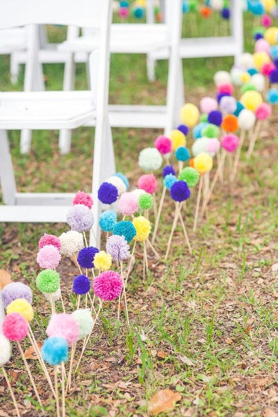 50 Best Garden Wedding Aisle Decorations Pink Lover