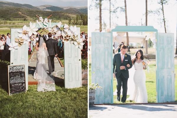 Unique Outdoor Wedding Ceremony Ideas: 43 Best Outdoor Wedding Entrance Ideas
