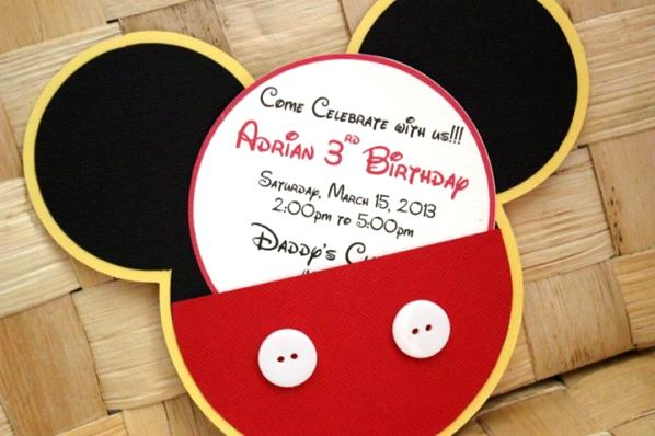 Mickey Mouse Birthday Party Ideas - Pink Lover