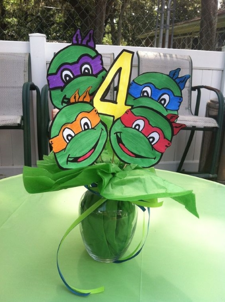 Teenage mutant ninja turtle birthday party ideas pink lover image source image source solutioingenieria Images