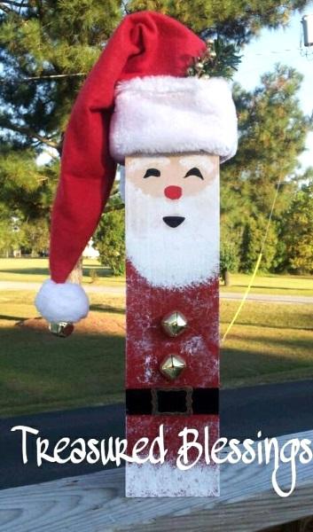 50 Diy Santa Christmas Decoration Ideas Pink Lover