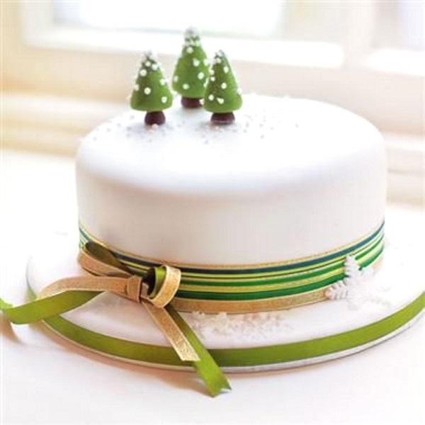 Christmas Cake Fruit Toppings