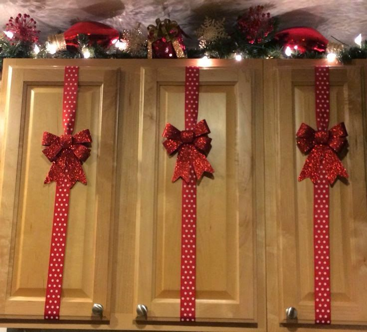 Amazing Easy Cabinet Christmas Decorations. Image Source