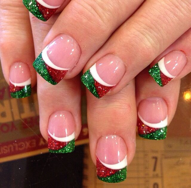 Really easy christmas nail designs cutest christmas nail art diy easy christmas nail art designs ideas mas nails view images best prinsesfo Images