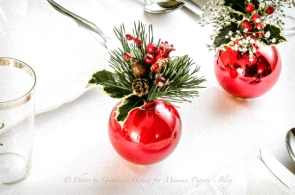 50 best diy christmas table decorations pink lover Small christmas centerpieces