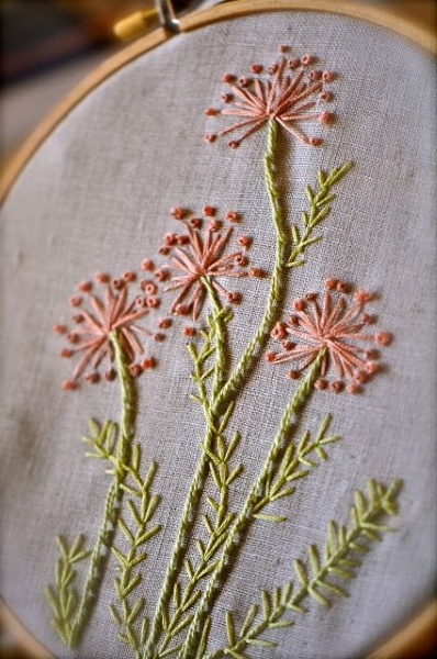 55 Hand Embroidery Designs That Moms Would Love - Pink Lover