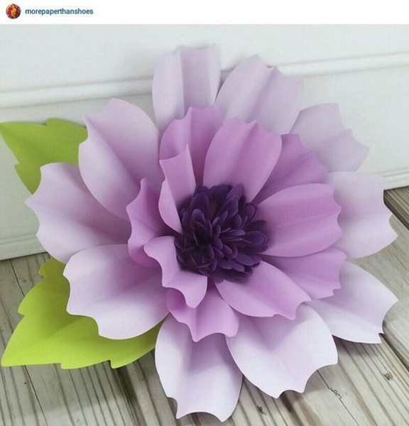 Centerpiece Paper Flowers Crafts
