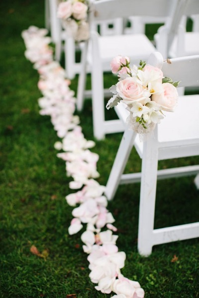 50 best garden wedding aisle decorations pink lover image source image source junglespirit Image collections